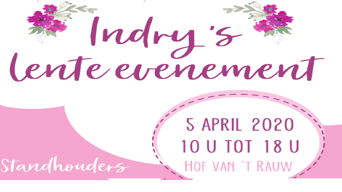 LENTE EVENEMENT Mol Rauw 'Indry's' nwe dat. 3.5.20