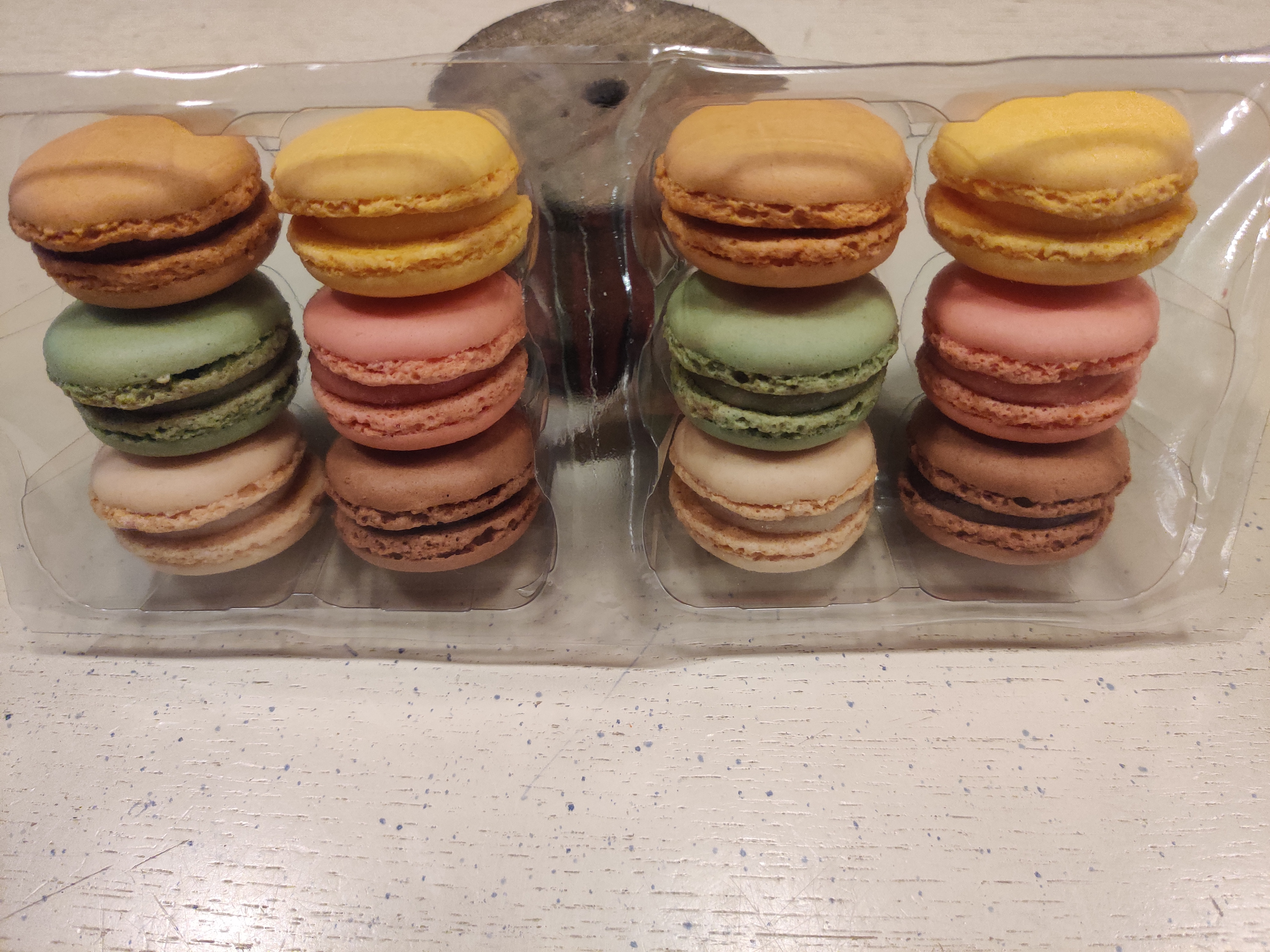 Macarons - super -set van 12